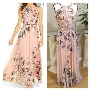 NWT Eliza J Halter Maxi Dress